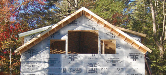 Housewrap and Insulation