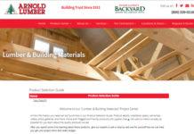 Arnold Lumber - Website Snapshot