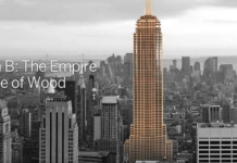 Empire State Building Made of Wood