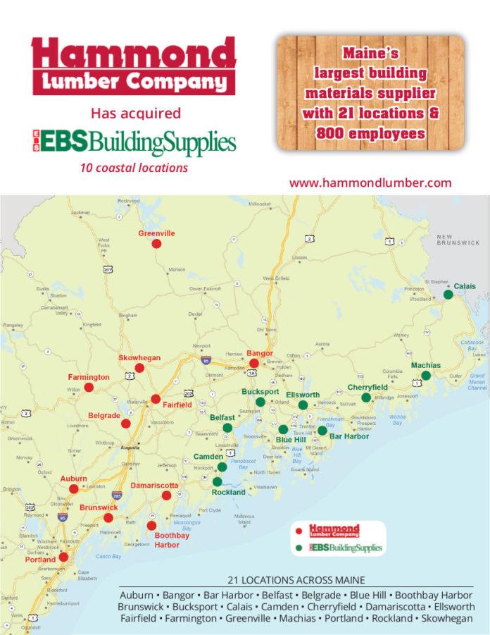 Hammond Lumber Acquires Ebs Building Supplies Lbm Journal