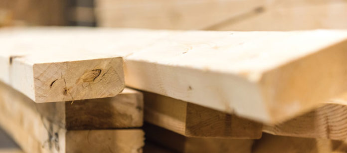 prices paid for building materials lumber