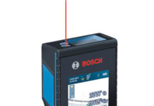 Bosch laser measure