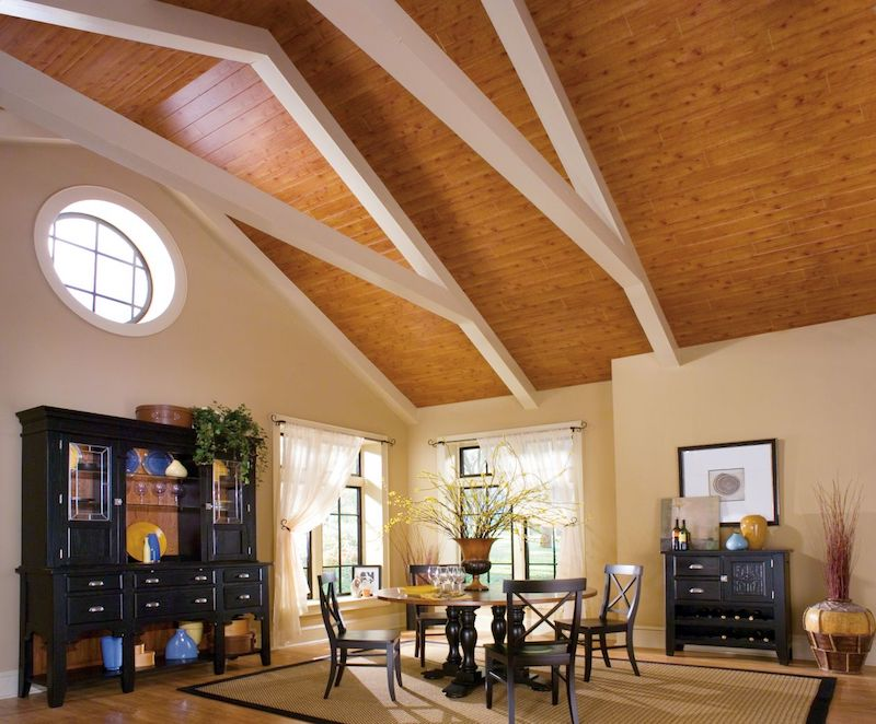Ceilings, Simplified: Wood is good, but MDF might be better - LBM