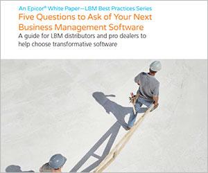 epicor five questions