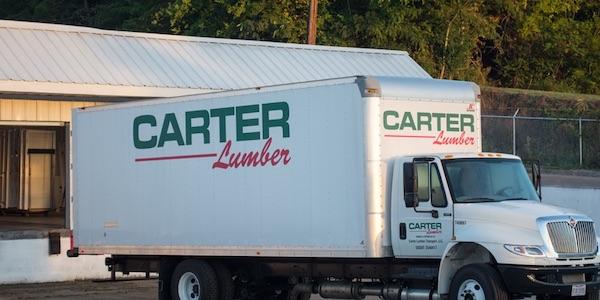 Carter Lumber truck