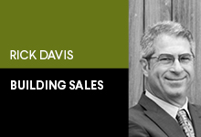 credit - building sales Rick Davis
