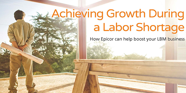White Paper: Achieving Growth During a Labor Shortage