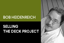 Make sure your deck components and accessories are quality-compatible