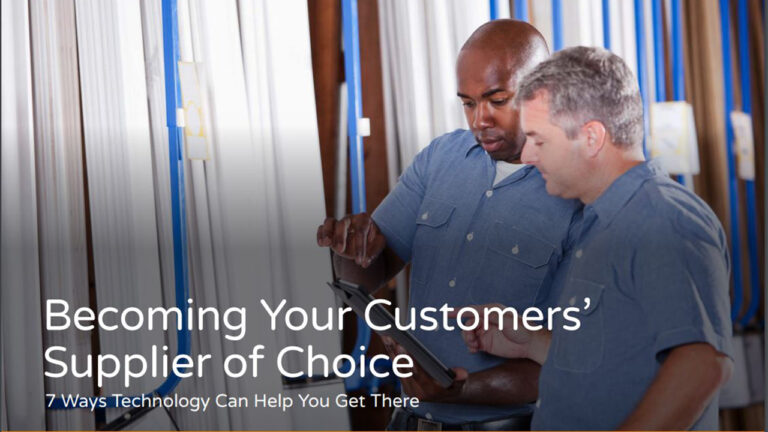 White Paper: Becoming Your Customers' Supplier of Choice