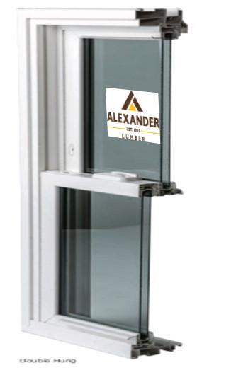 Alexander Lumber window