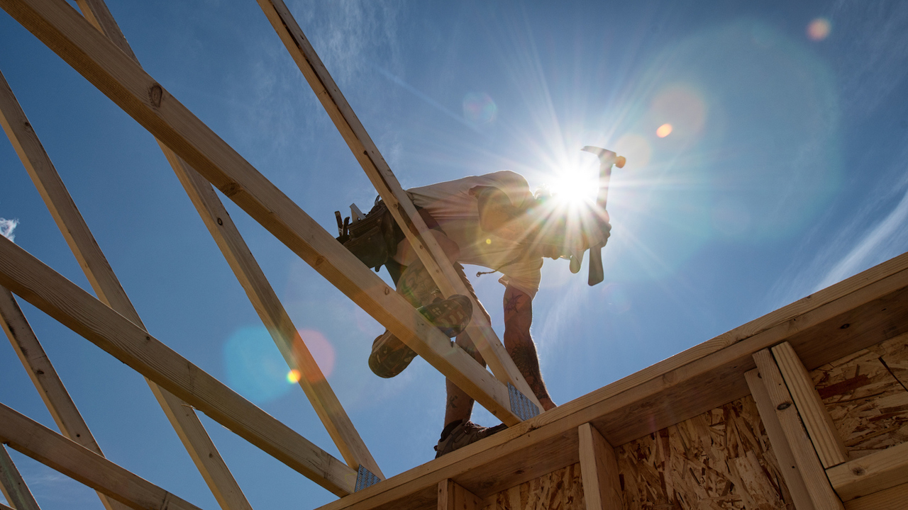 Residential construction builder confidence