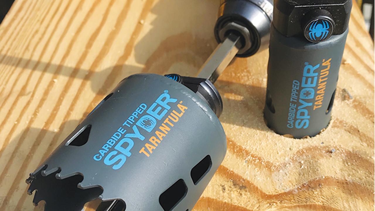 Spyder Products Tarantula carbide-tipped hole saw