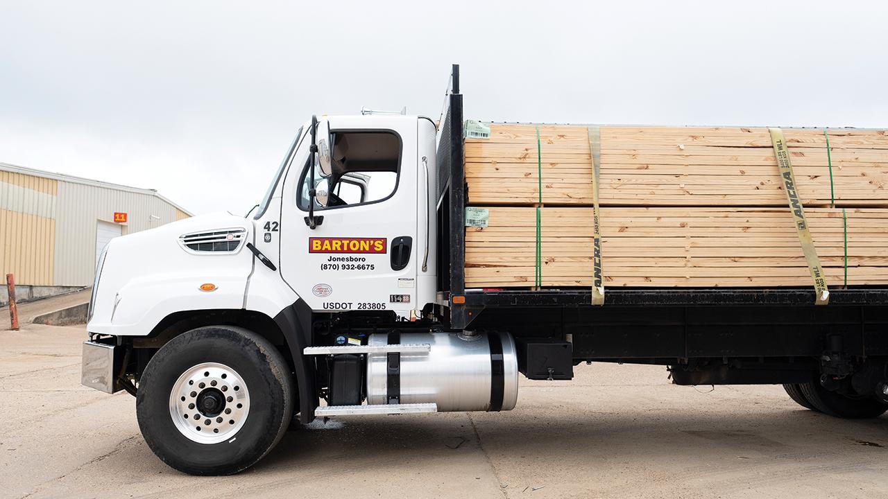 Barton's Lumber truck