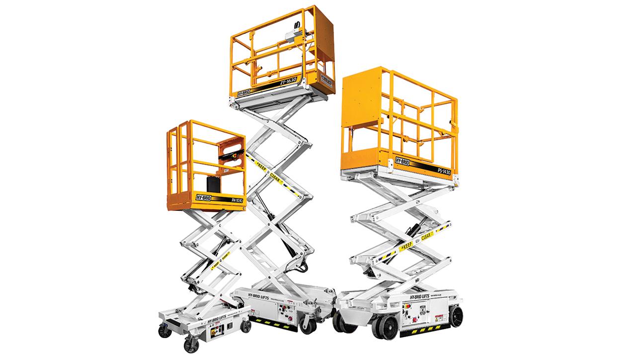 Custom Equipment Hy-Brid Lifts