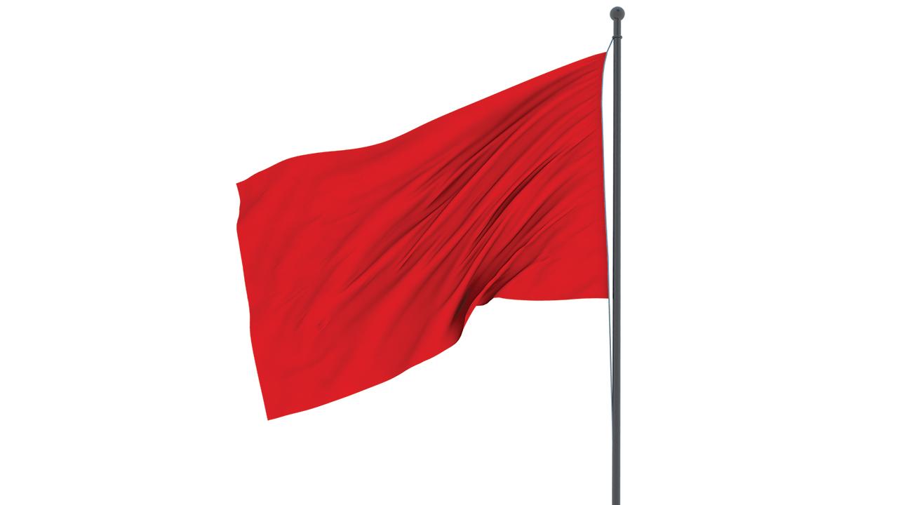 Tough Call Red Flag