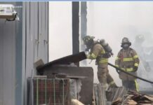 McCormack Building Supply fire2