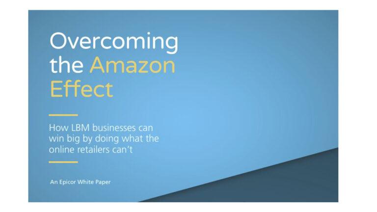 White Paper: Overcoming the Amazon Effect