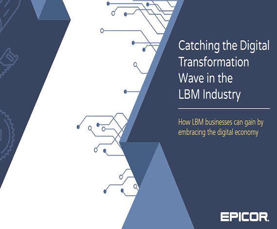 White Paper: Catching the Digital Transformation Wave in the  LBM Industry