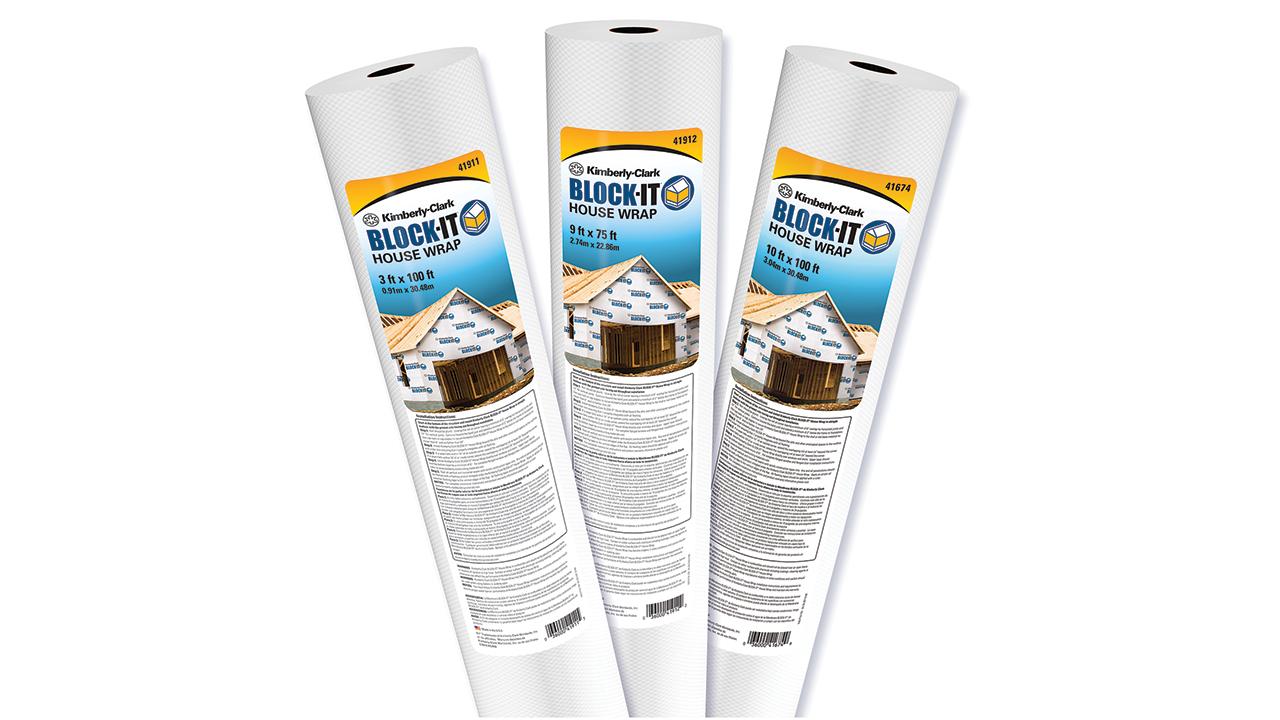 Kimberly-Clark insulation and housewrap