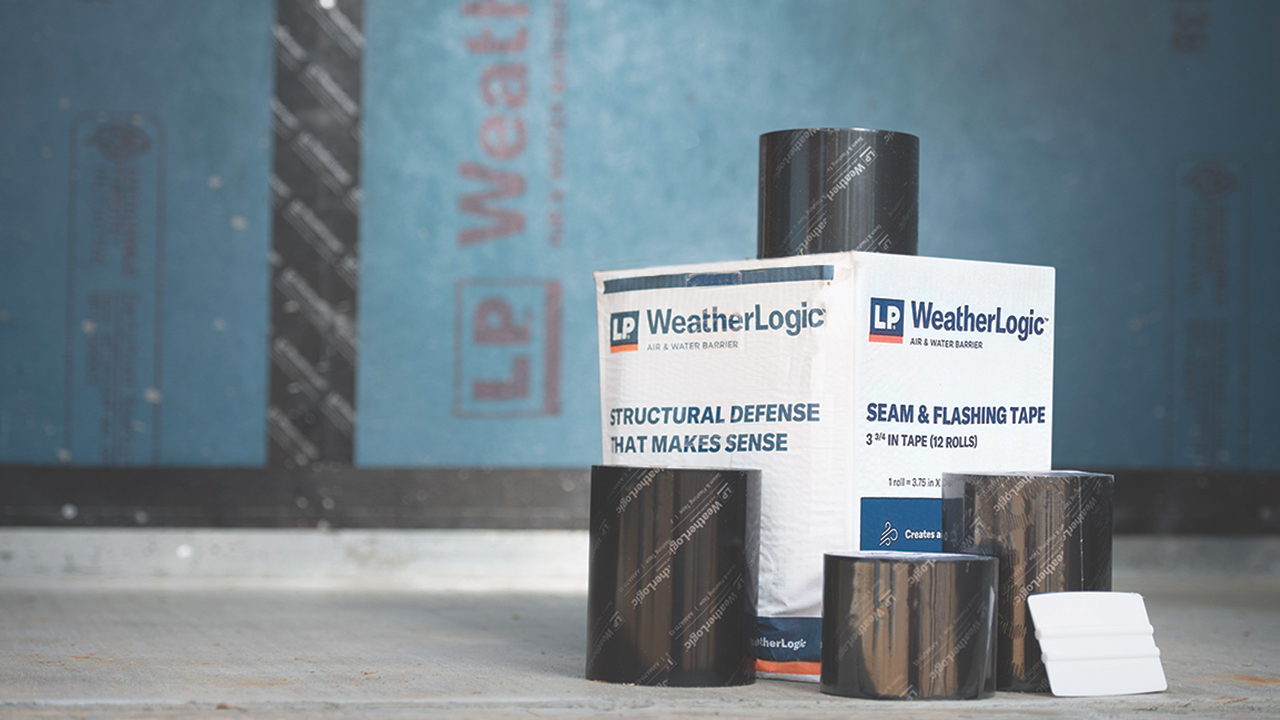 LP - insulation and housewrap