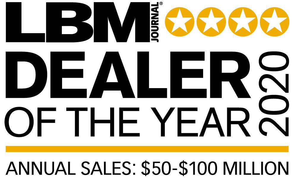 Gillman Home Center Dealer of the Year 2020