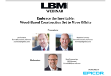 Webinar replay: Embrace the Inevitable: Wood-Based Construction Set to Move Offsite