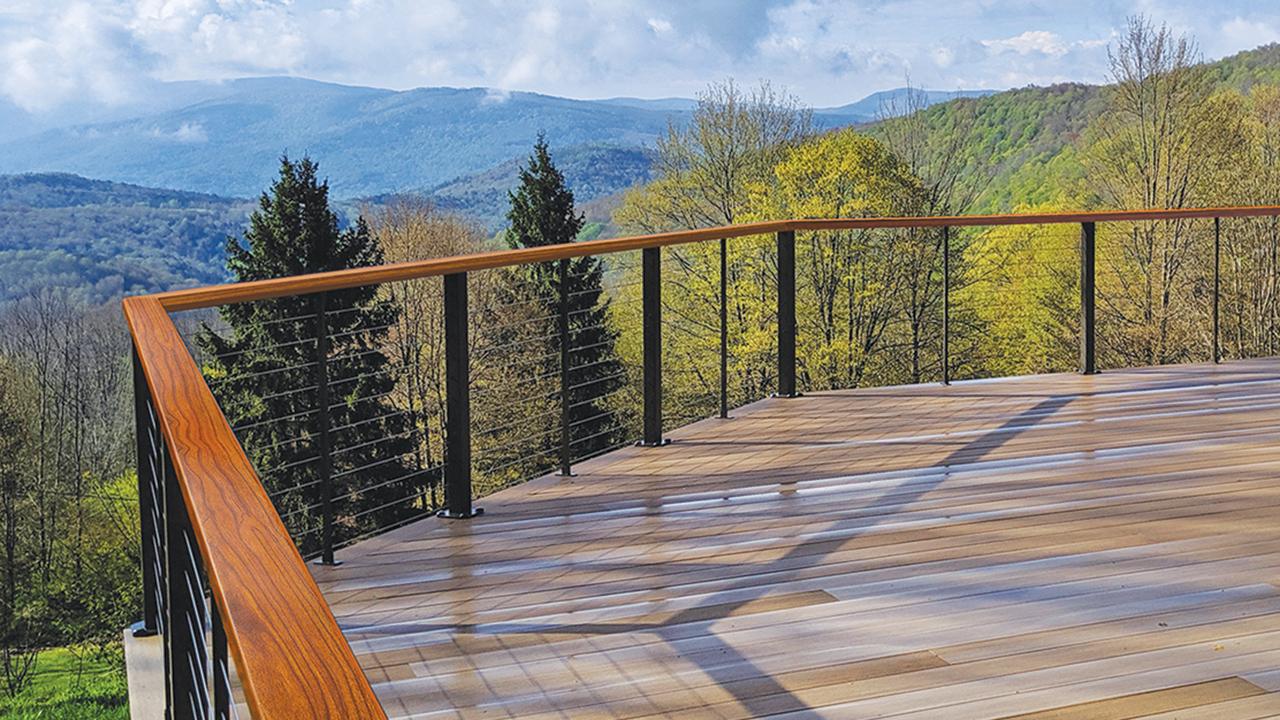 Feeney railing in depth