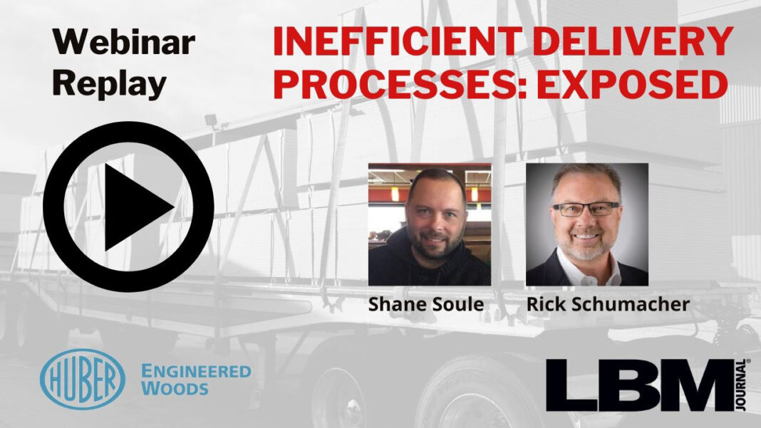 Webinar - Inefficient Delivery Processes--EXPOSED