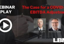 The Case for a COVID-19 EBITDA Adjustment