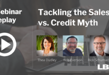Tackling the Sales vs. Credit Myth