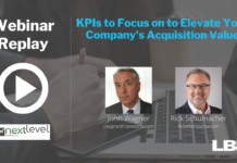 KPIs to Focus on to Elevate Your Company's Acquisition Value