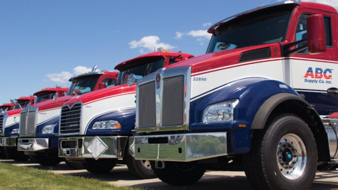 ABC Supply trucks