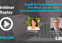Credit & Technology, Part I: The What and the How (you should already know the Why)