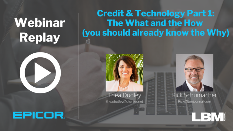 Webinar Replay: Credit & Technology, Part I: The What and the How (you should already know the Why)