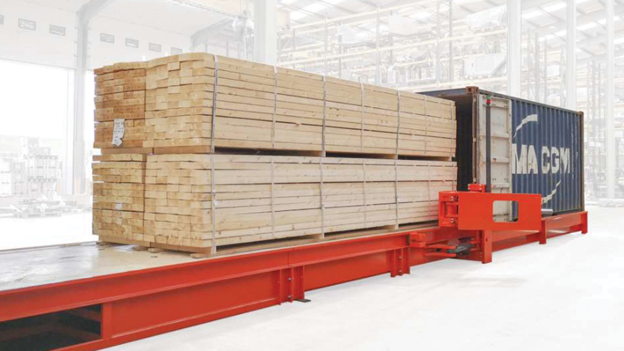 Combilift racking and delivery