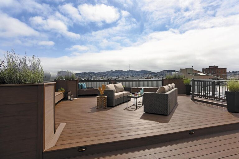 Better tech means a better deck with TimberTech decking