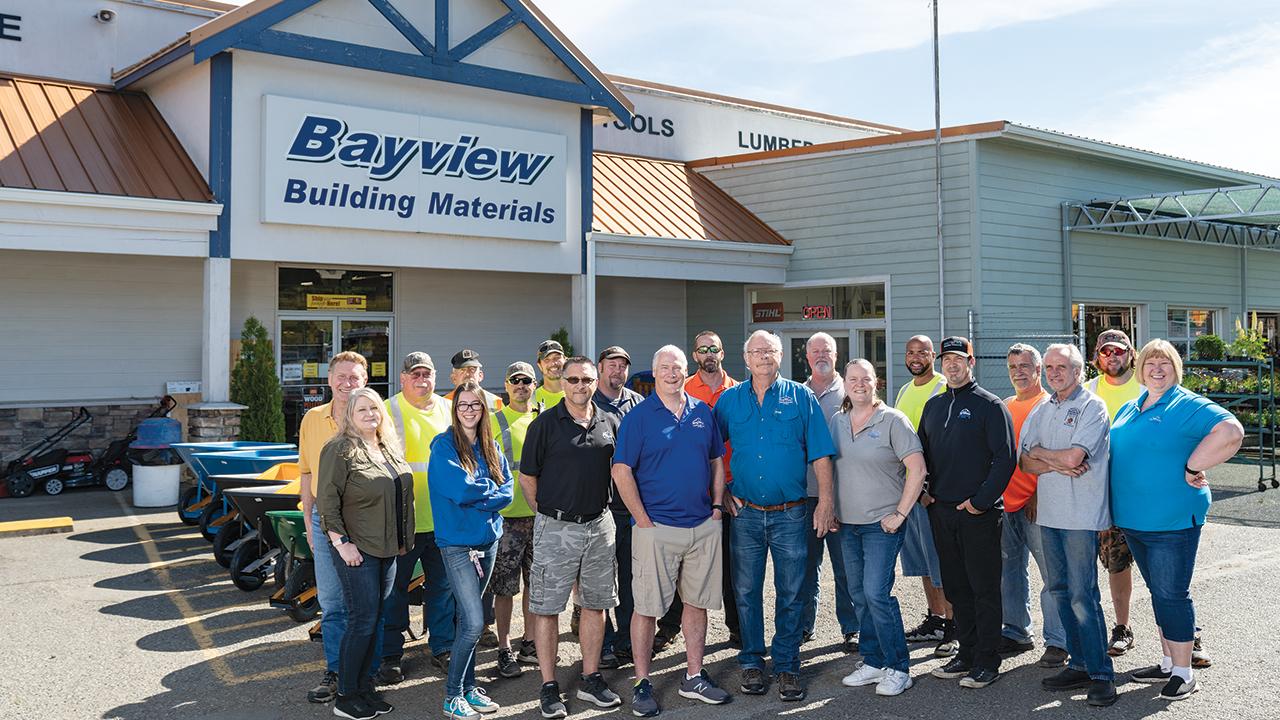 Bayview Building Materials team