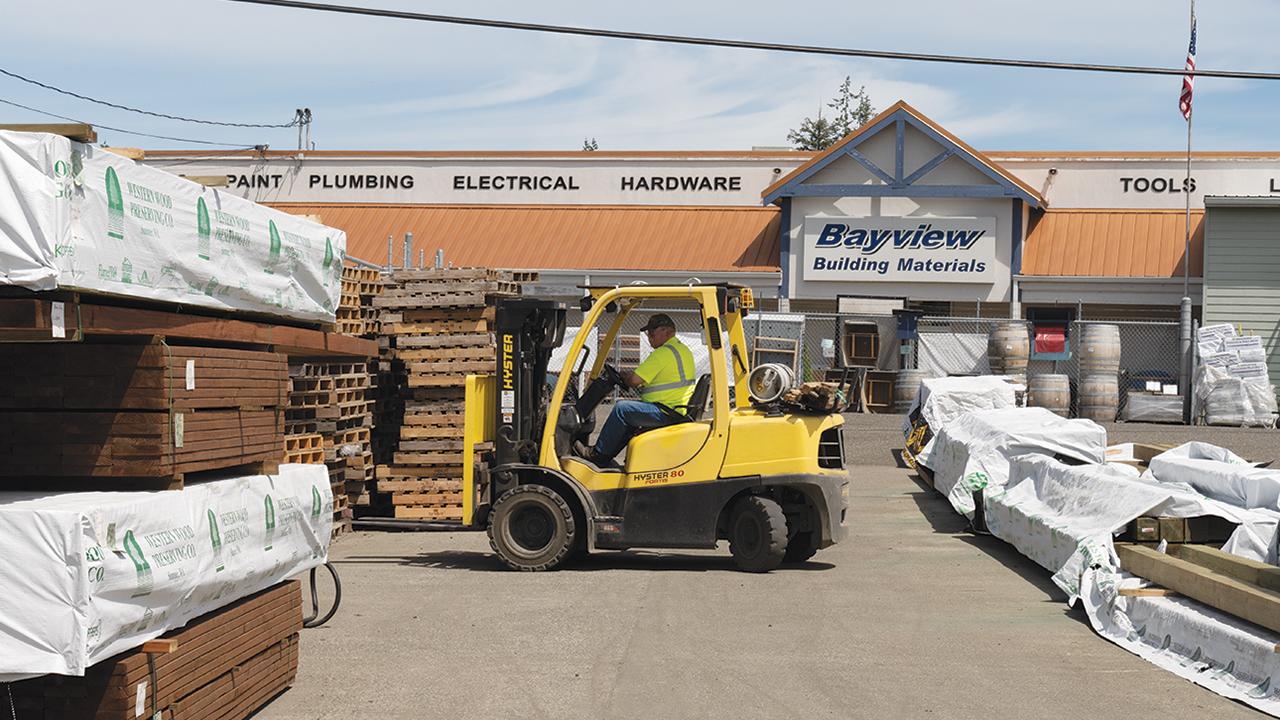 Bayview lumberyard