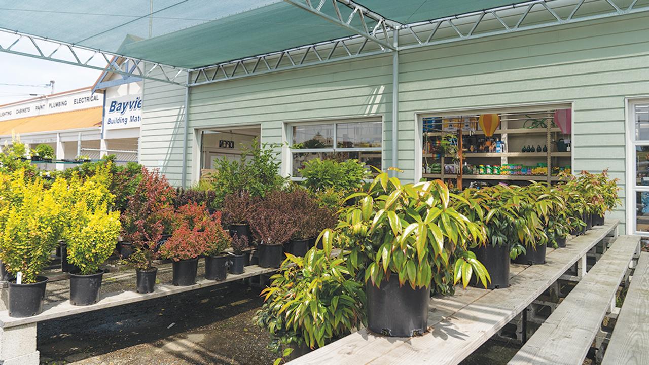 Bayview garden center