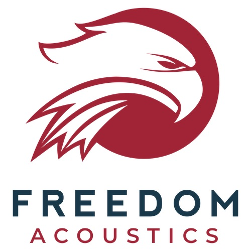 Freedom Acoustics logo Kodiak Building Partners