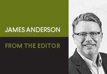 From the Editor James Anderson