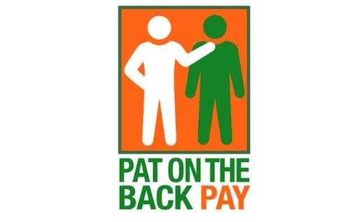 Stine Pat on the Back pay