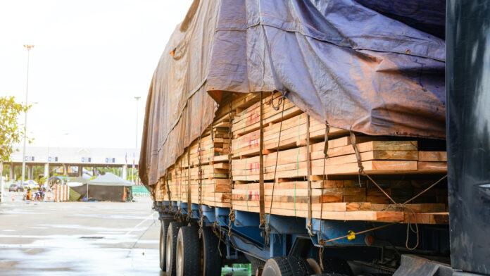 lumber supply truck NAHB
