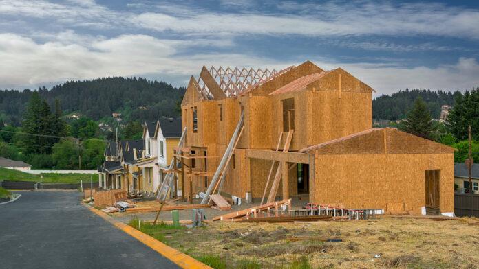 suburban residential construction