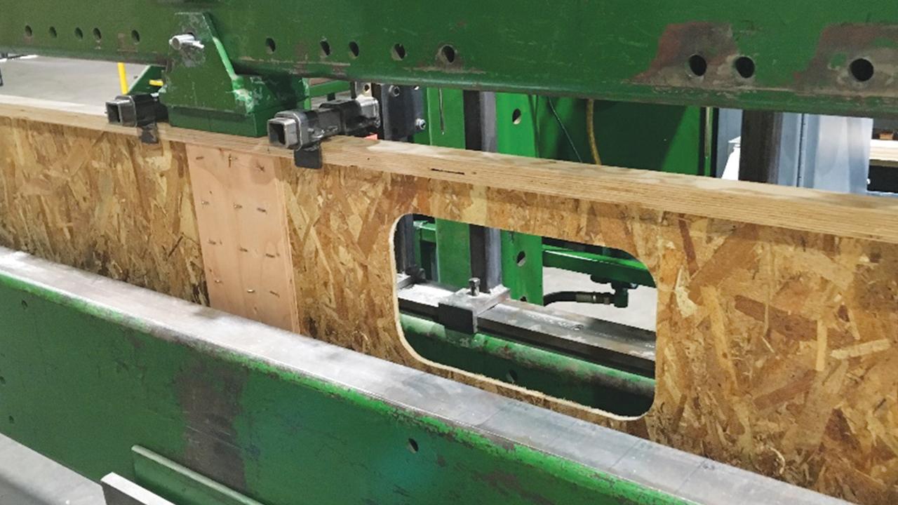 Boise Cascade round rectangular ijoist engineered wood products in depth
