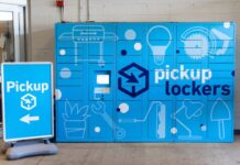 Lowe's pickup lockers