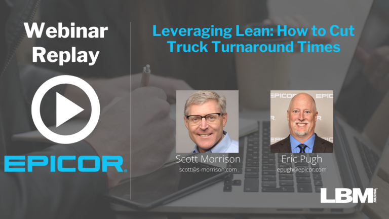 Webinar Replay:  Leveraging Lean: How to Cut Truck Turnaround Times