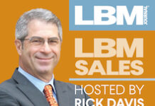 LBM Sales Rick Davis podcast