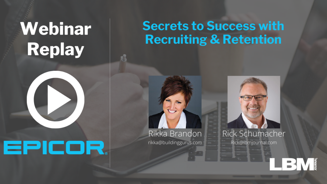 Secrets to Success with Recruiting & Retention