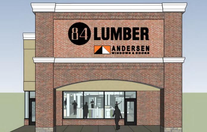 84 Lumber Andersen showroom